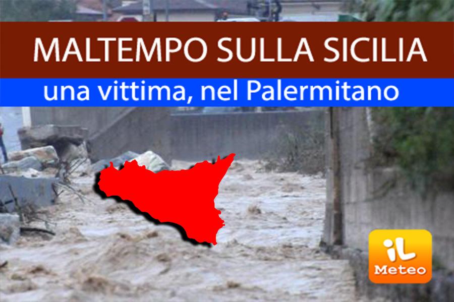 Maltempo, Sicilia flagellata da piogge e allagamenti