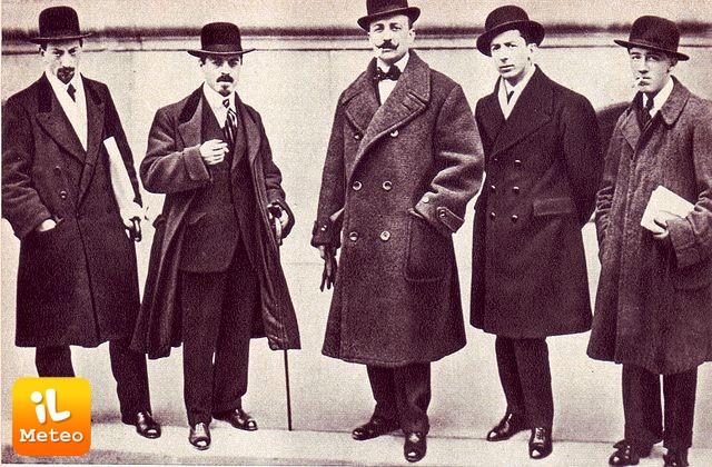 1909, Filippo Tommaso Marinetti pubblica su Le Figaro il Manifesto del futurismo.