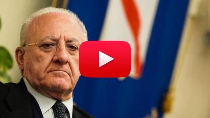 Coronavirus Campania In Lockdown Da Subito Ecco La Richiesta Del Governatore De Luca Video Ilmeteo It