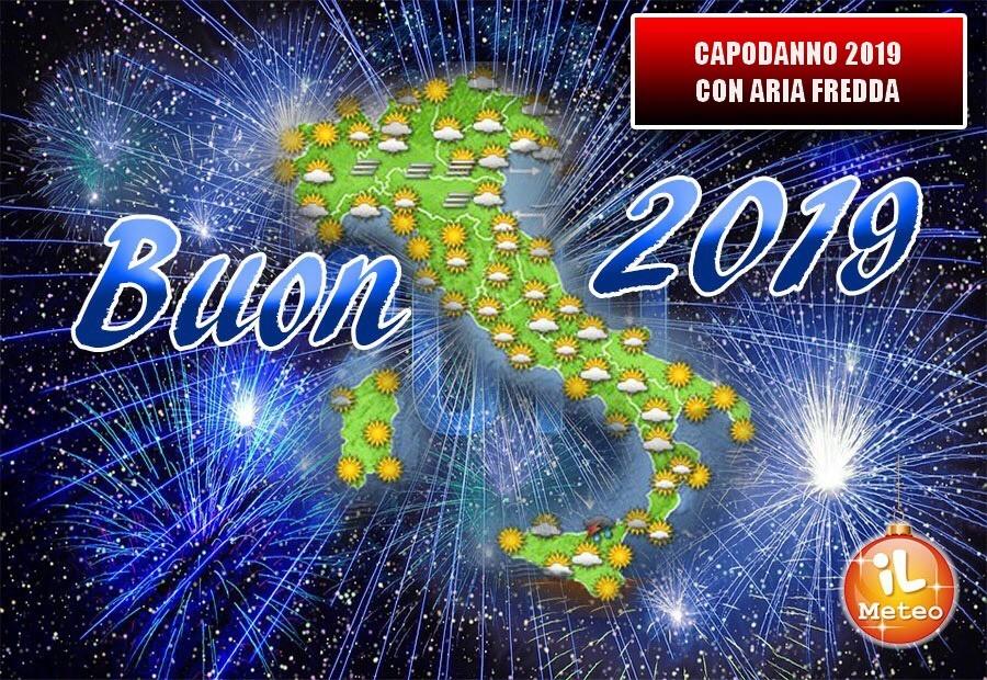 Aria fredda in transito sull'Italia le previsioni per Capodanno