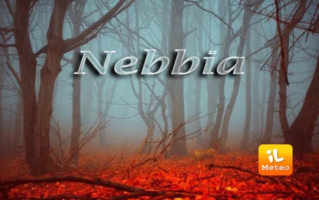 Nebbia sulle pianura d'Italia, specie al Nord