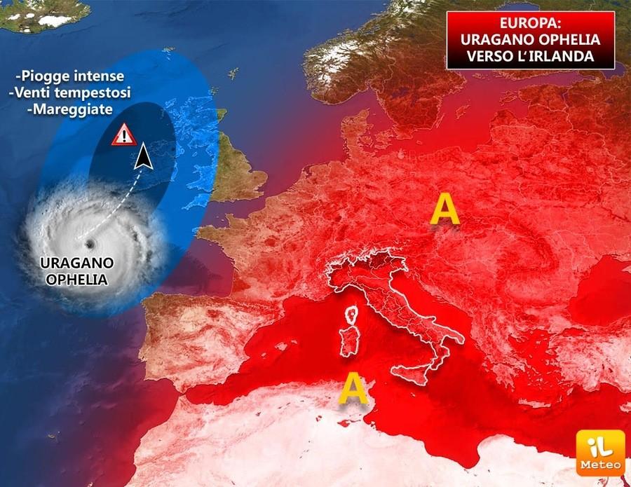 Un uragano alle porte dell'Europa