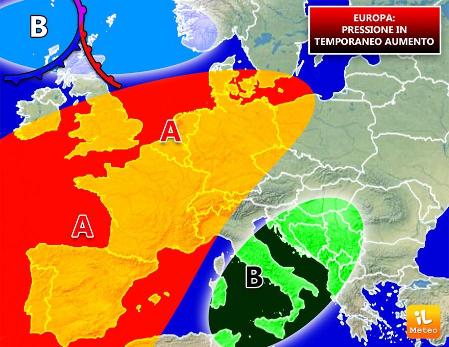 Previsioni meteo Europa