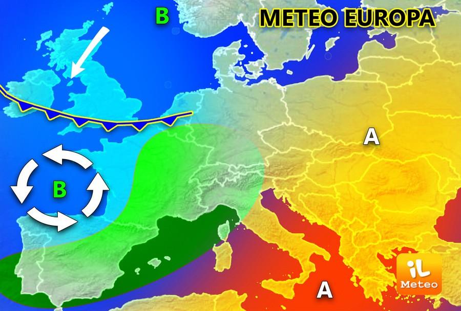 Europa, incursioni instabili e maltempo. La Primavera può attendere