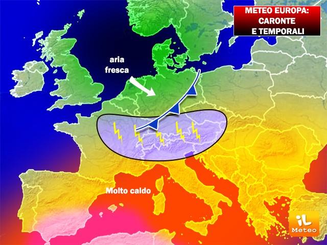Europa nella morsa di Caronte