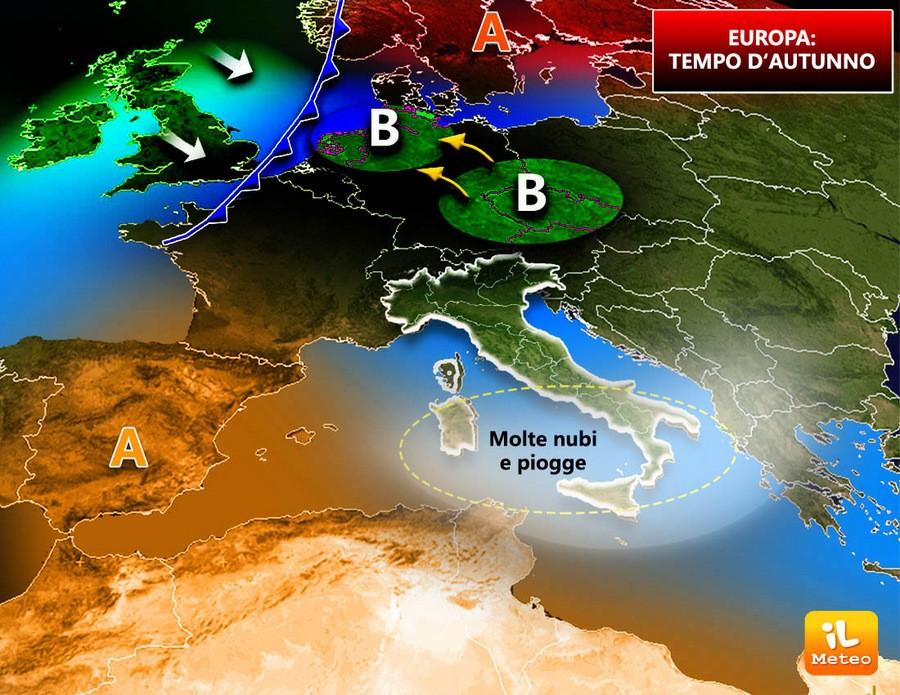 Europa, azioni instabili sul vecchio continente in questo avvio di Autunno