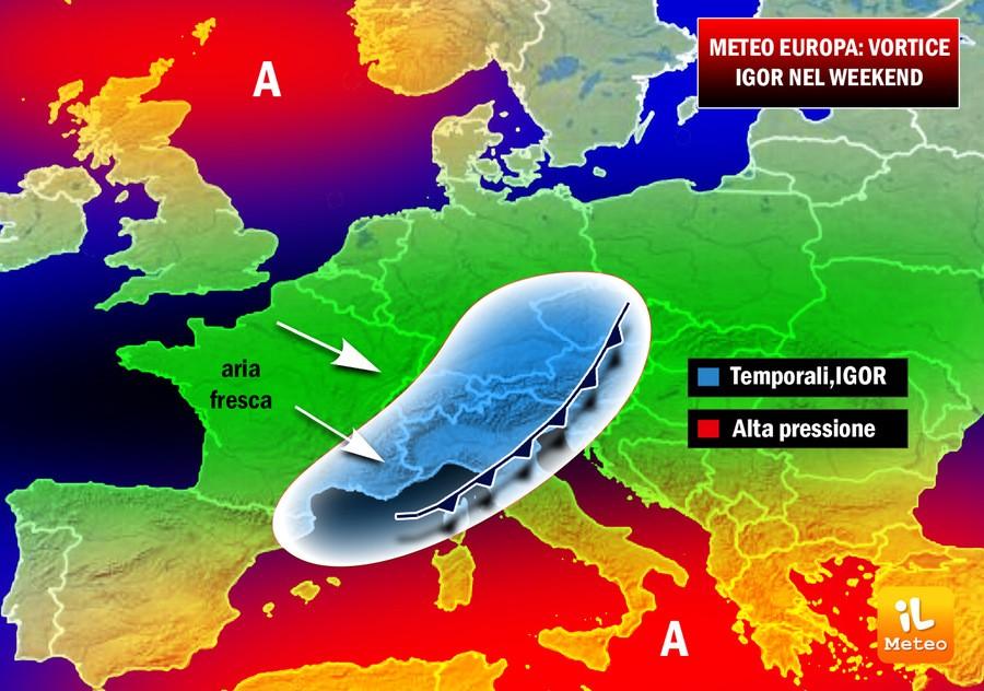 METEO - Le previsioni di venerdì 5 maggio