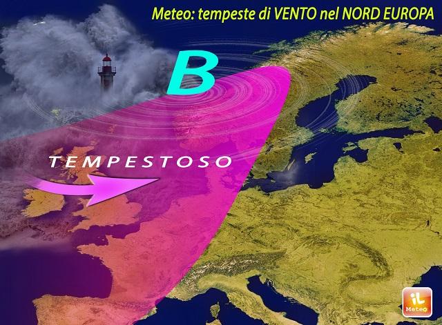 Meteo. Poche piogge su molte Nazioni d'Europa fino a fine Marzo