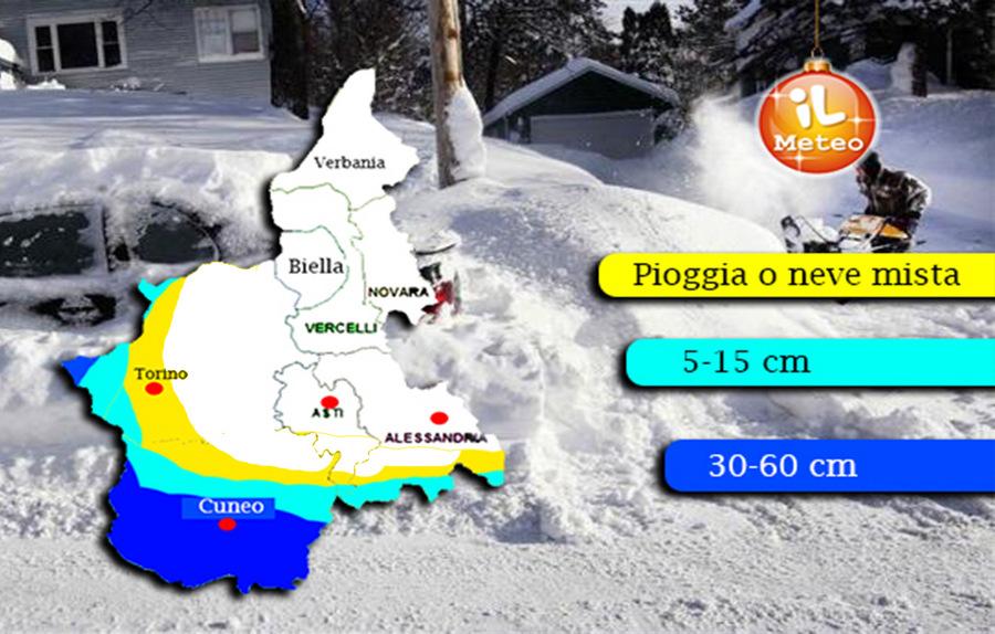 Meteo, maltempo e neve a medio-bassa quota: tempo instabile fino a Natale