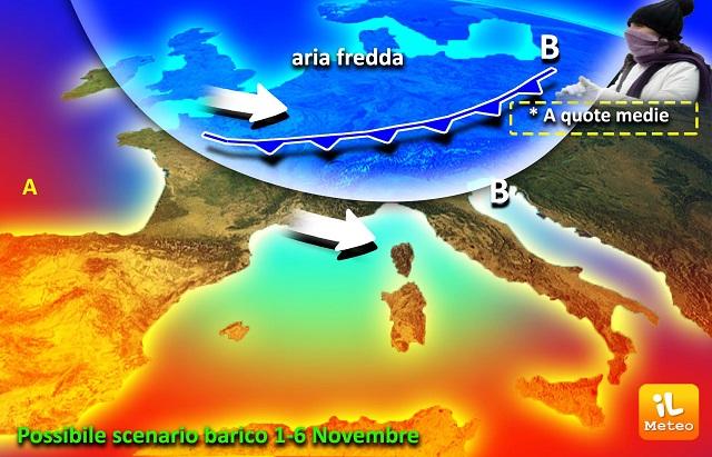 Meteo, le previsione per il ponte di Ognissanti a Bologna