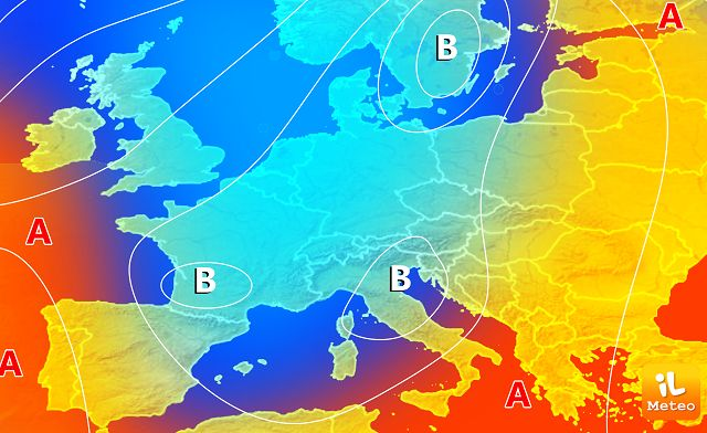 Meteo Italia, maltempo e prima neve. Ma al Sud ancora mare