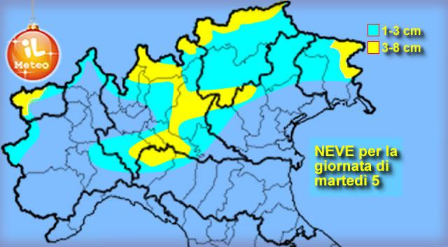 Meteo: Maltempo in arrivo, Neve in pianura al Nordovest