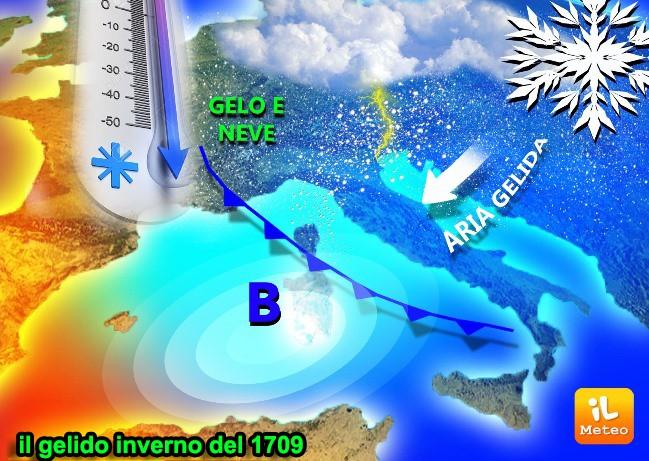 Il terribile inverno 1709