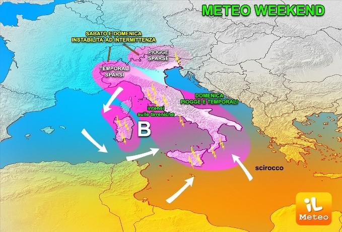 Meteo Napoli, arriva Zefirus: l'anticiclone porta piogge e temporali