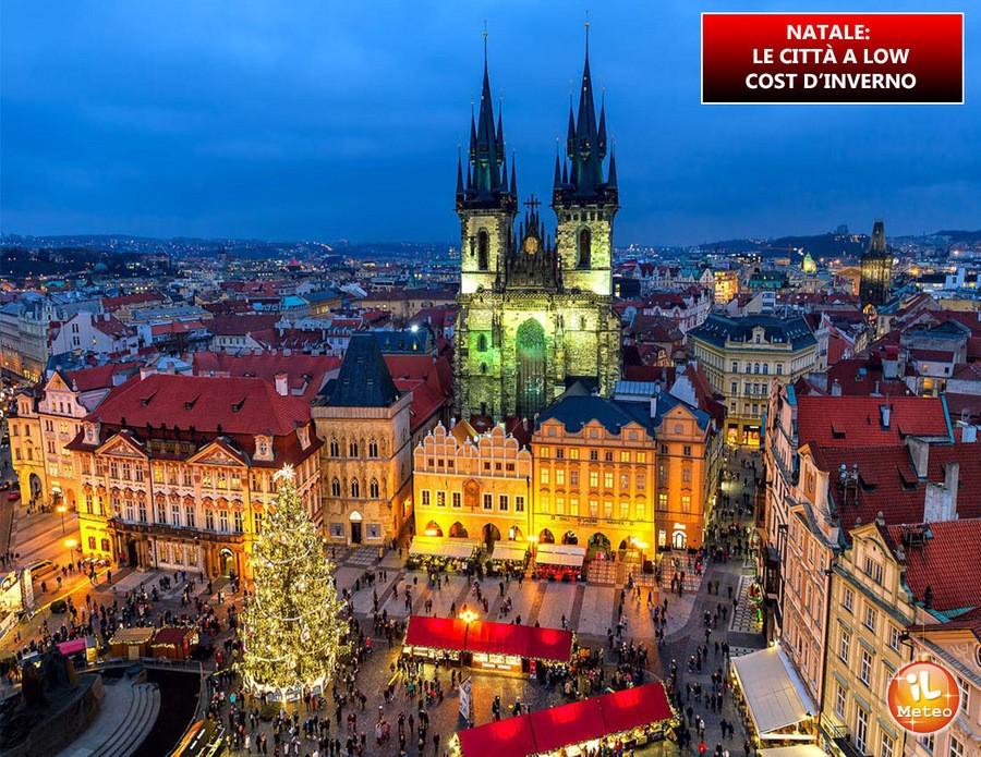 NATALE: le città a low cost d'inverno