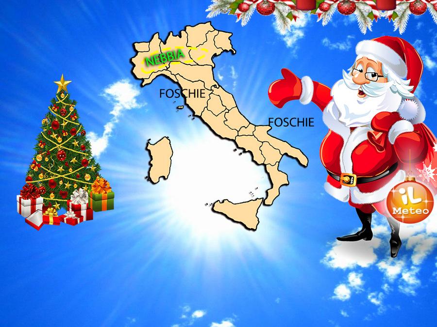 Meteo in Lombardia, a Natale sole e temperature miti