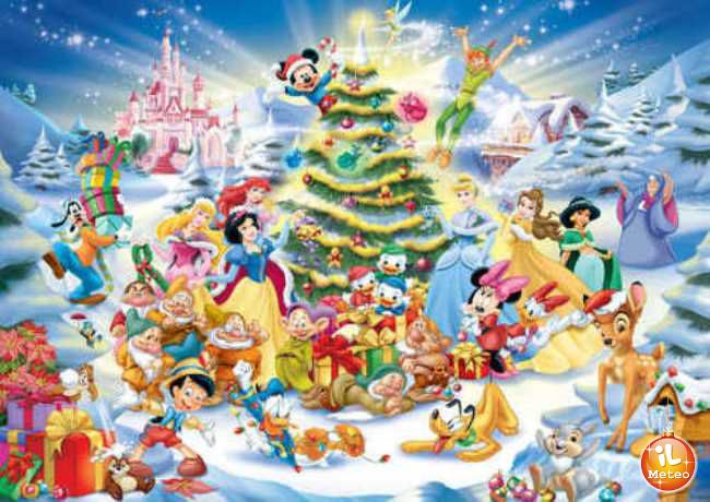 Immagini Natalizie Walt Disney.Natale In Tv Spopolano I Film Targati Disney Ilmeteo It