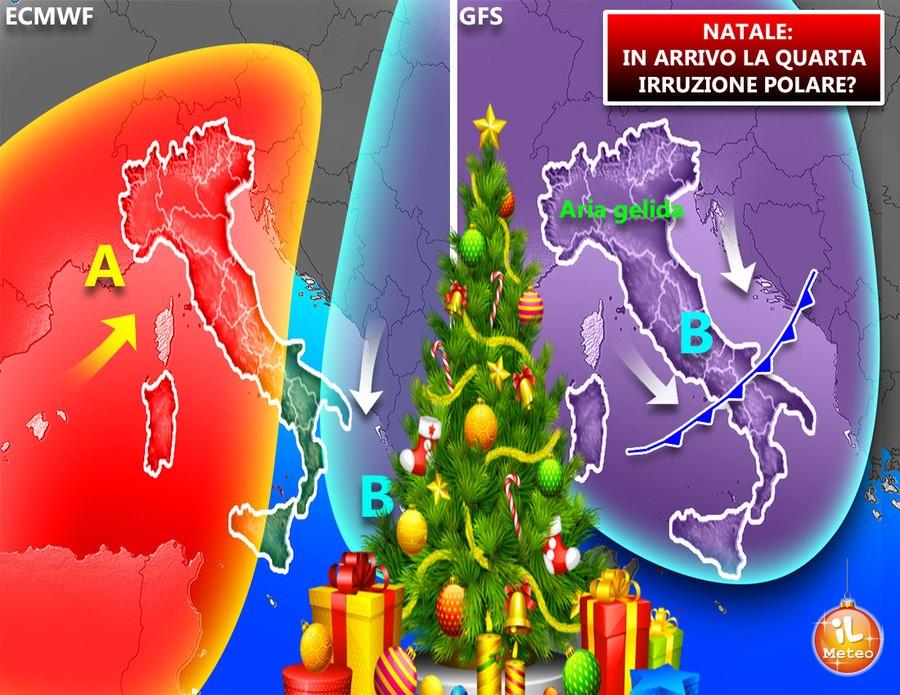 Due ipotesi per le festività natalizie