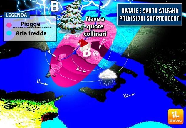 Natale e Santo Stefano, previsioni sorprendenti