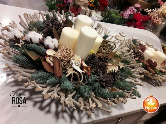 Decorazioni Natalizie Tavola.Natale Gli Artisti Dei Fiori Per La Tavola Delle Feste Foto Esclusive Ilmeteo It