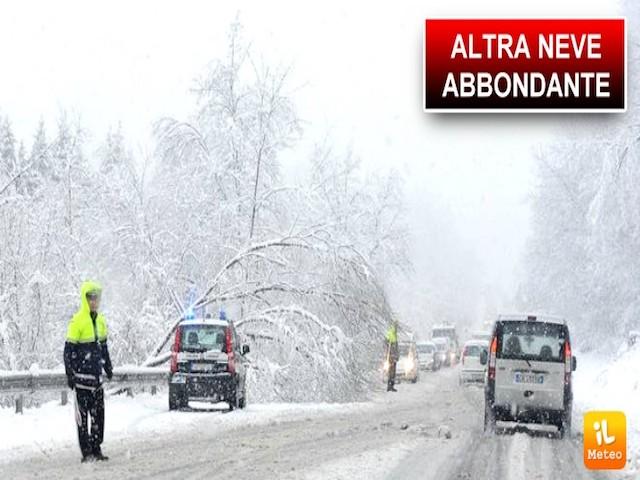In arrivo tantissima neve sulle Alpi