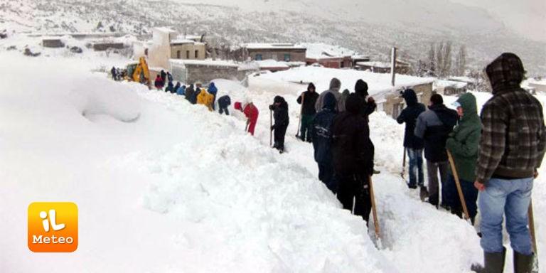 Algeria, nuove nevicate a due passi dal Sahara