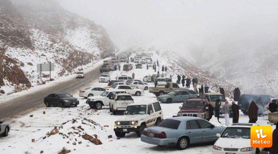 Previsioni meteo: freddo e neve a quote basse sulle regioni adriatiche