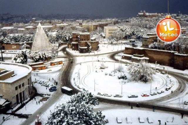 Gennaio 1985, tanta neve anche a Roma