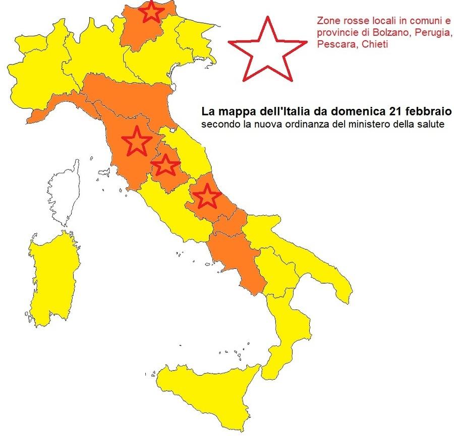 Italia Climatica Cartina.Coronavirus L Italia E Sempre Piu Arancione Decise Le Nuove Fasce Per Le Regioni La Mappa Con I Dettagli Ilmeteo It