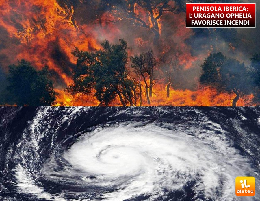 Incendi devastanti tra Spagna e Portogallo