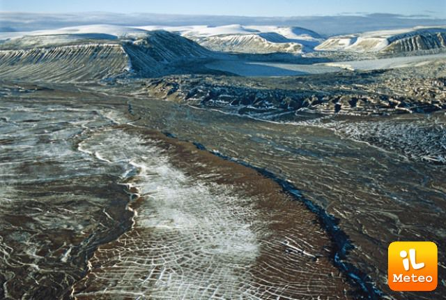 Il permafrost si sta sciogliendo rapidamente