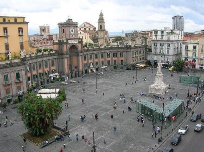 La piazza dove si terrà il concerto