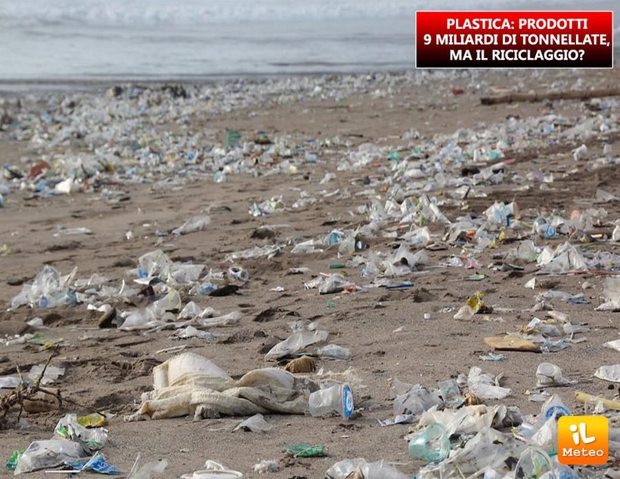 Plastica, un vero flagello per l'ecosistema ambientale
