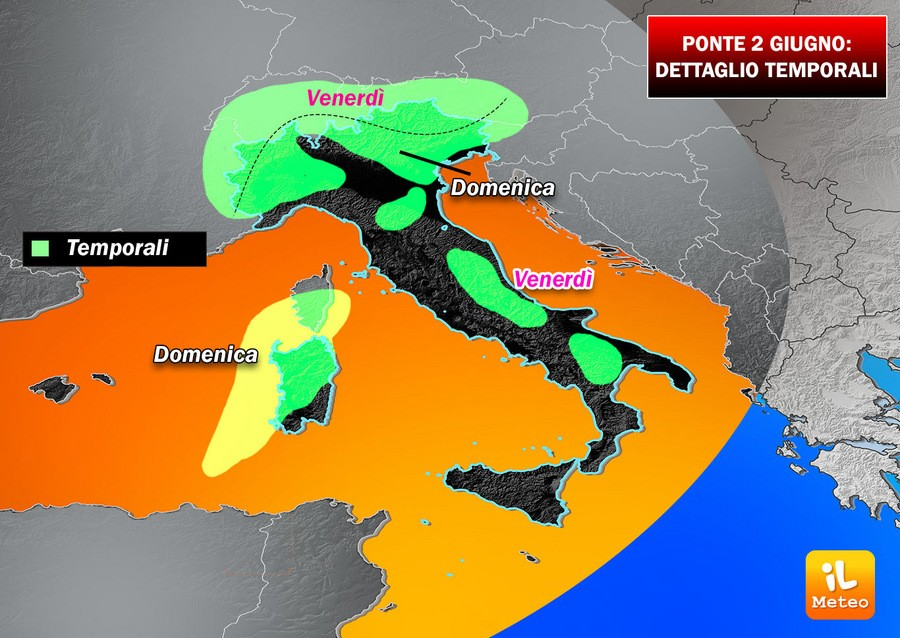Hannibal e Scipione: settimana di caldo africano in tutta Italia