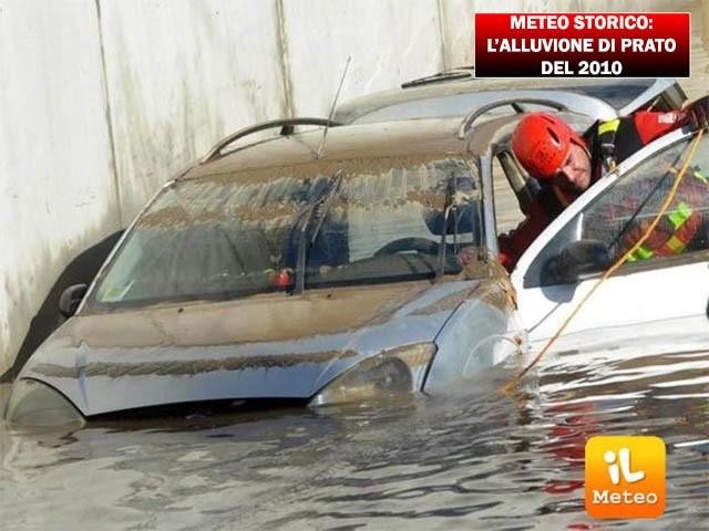 Alluvione a Prato, era il 5 Ottobre 2010