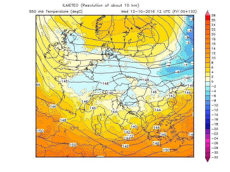 Allerta maltempo al centro sud, in arrivo forti temporali