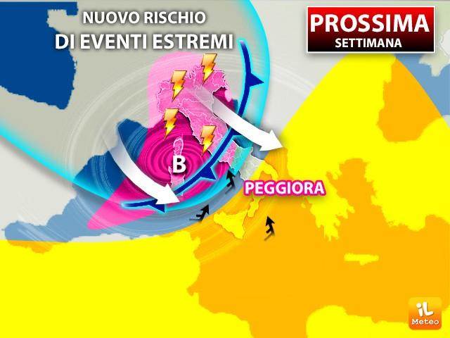 Meteo, le previsioni del tempo di questa settimana