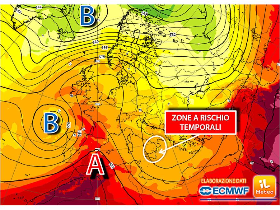 Torna l'alta pressione: tremore estivo in tutta Italia