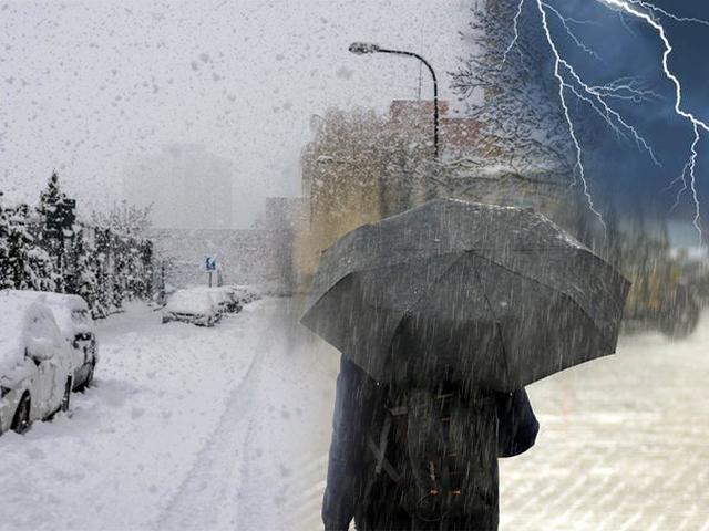Prossime ore con temporali e nevicate fino a bassa quota