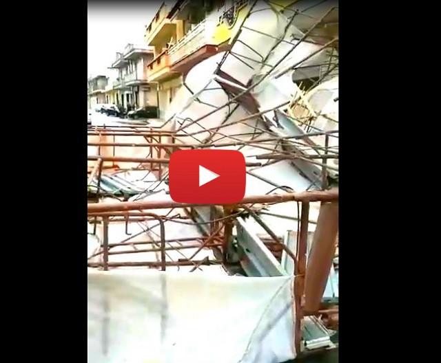 Meteo Cronaca Diretta Video: PUGLIA, danni ad Acquaviva delle Fonti a causa dei Forti Venti. Ecco le Immagini - iLMeteo.it