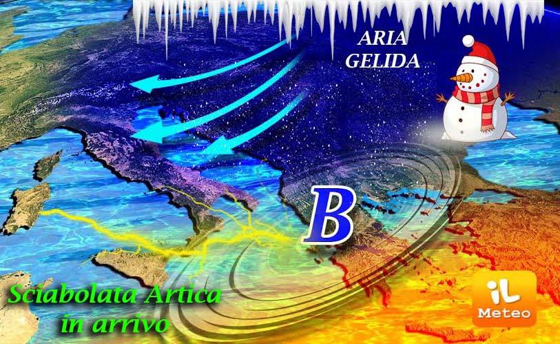 Meteo: freddo polare in arrivo in Italia