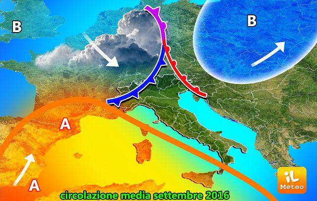 Arriva il ciclone Morgana: pioggia e grandine in Abruzzo