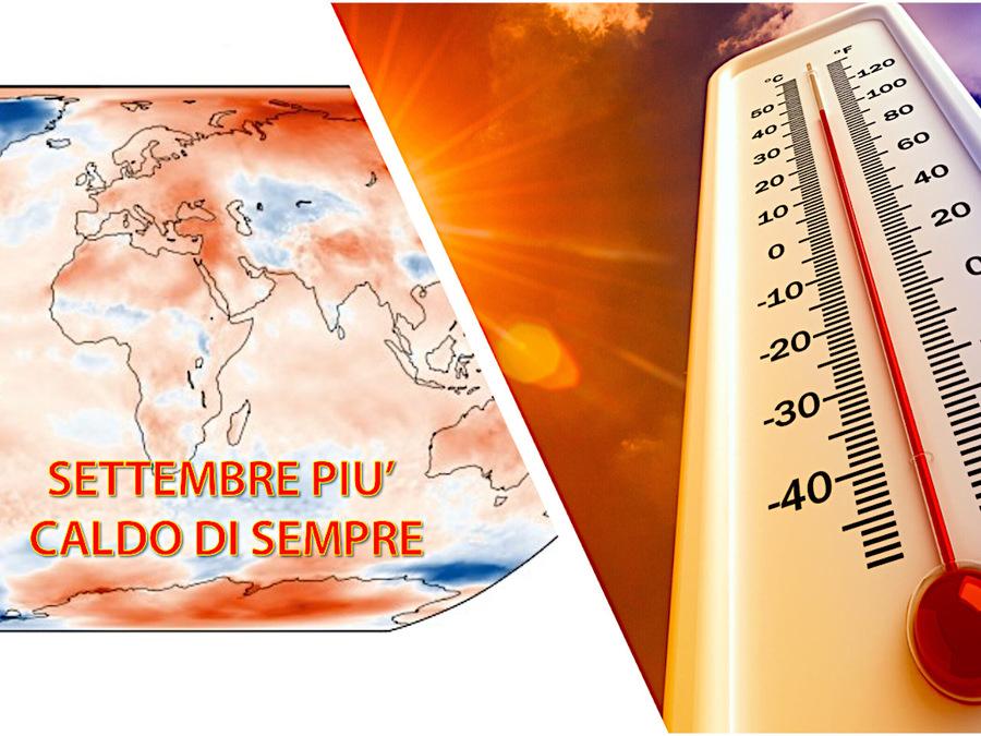 Settembre 2020 il più caldo di sempre