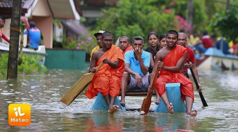 Sri Lanka, maltempo senza precedenti