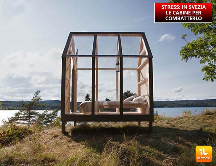 STRESS: in Svezia le cabine per combatterlo