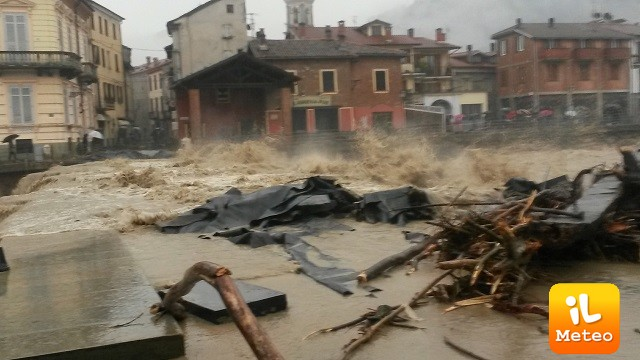 Il maltempo flagella Piemonte e Liguria: allagamenti, danni e disagi