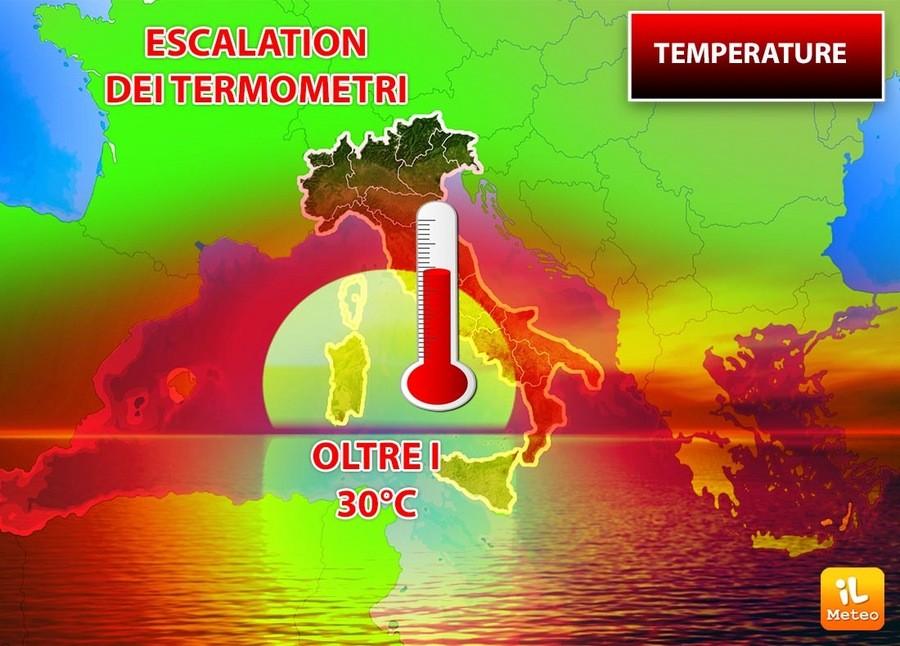 Escalation dei termometri
