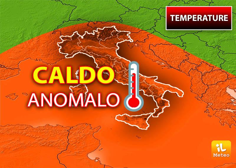 Il caldo anomalo sembra avere una fine