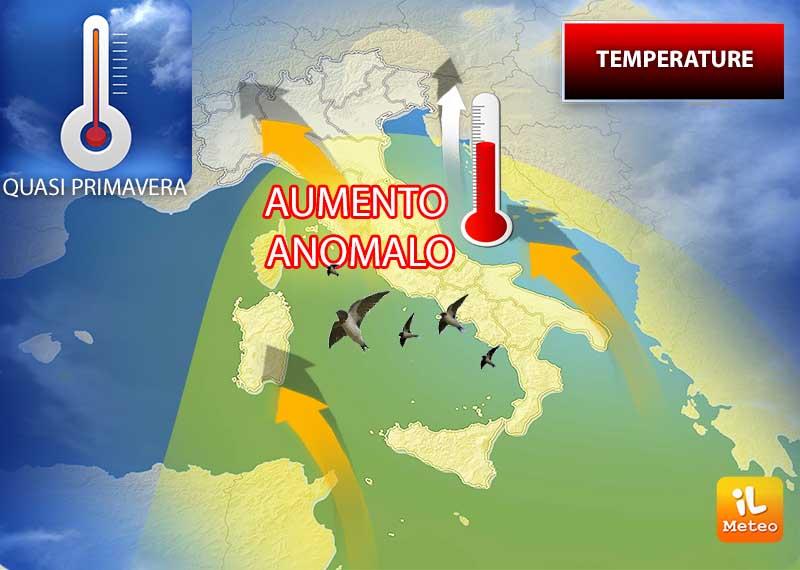 Aumento anomalo dei termometri