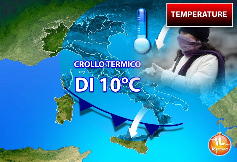Arriva il freddo, temperature in picchiata al Centro Sud - Ambiente & Energia